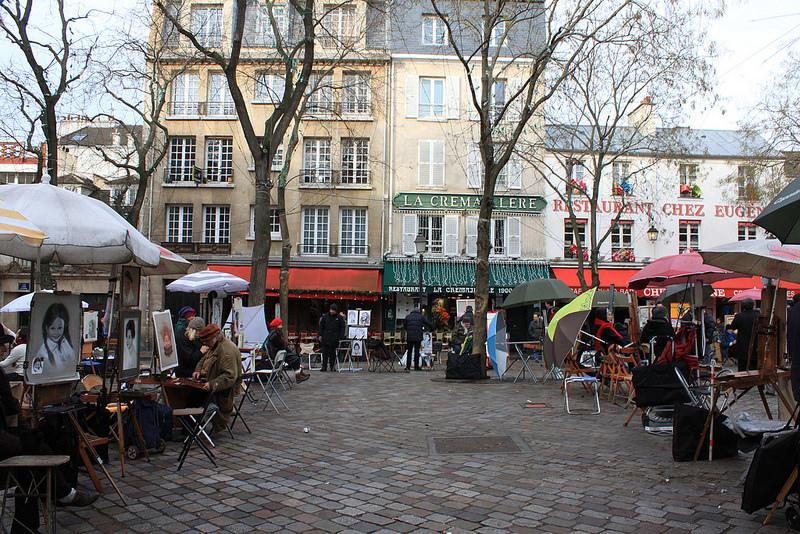 巴黎蒙馬特高地~聖心堂-17度C用中文遊巴黎。 (62)