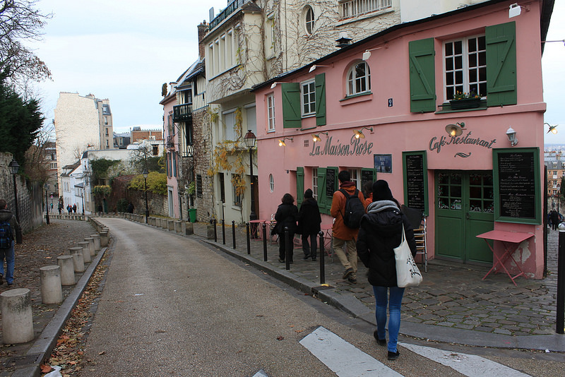 巴黎蒙馬特高地~聖心堂-17度C用中文遊巴黎。 (72)