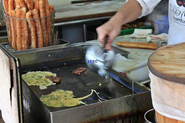 17度C士林在地推薦必訪傳統早餐-老張燒餅-9