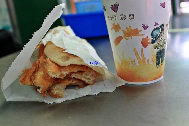 17度C士林在地推薦必訪傳統早餐-老張燒餅-15