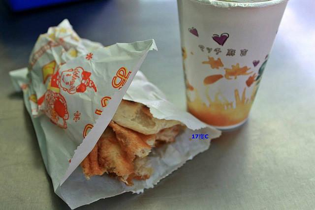17度C士林在地推薦必訪傳統早餐-老張燒餅-14