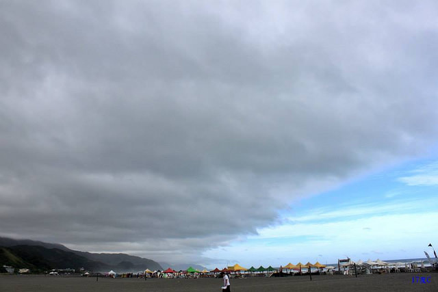 17度C宜蘭烏石港-衝沙衝浪-18