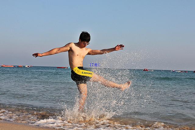 台灣國境之南-墾丁-沙灘-比基尼-海灘男孩 (42)