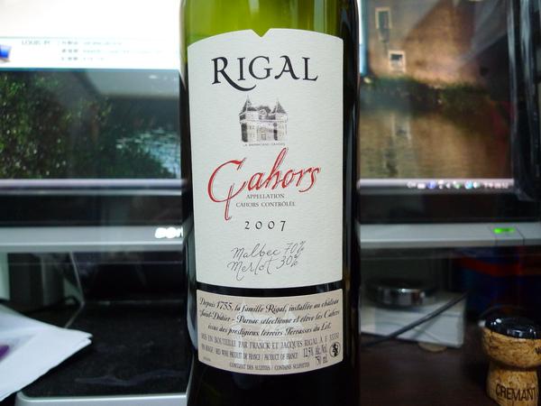 Rigal Cahors 2007