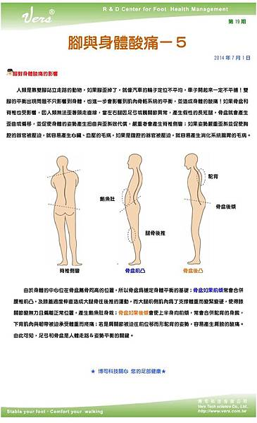 足部健康電子報第19期