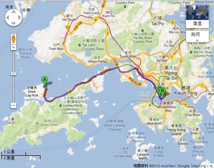 香港國際機場 尖沙嘴 海港商場