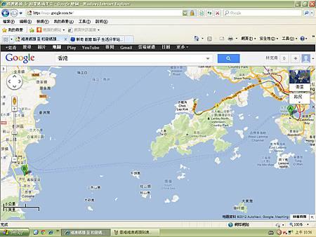 香港上環港澳碼頭 到澳門TAIPA碼頭