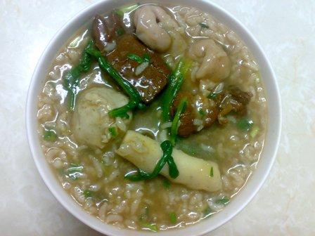 紅燒羊肉 火鍋料鹹稀飯.jpg