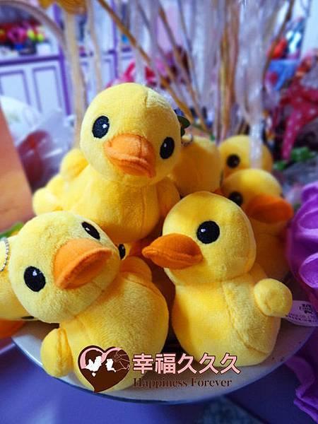 黃色小鴨婚禮小物1