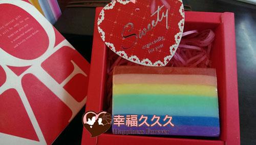 彩虹香皂婚禮小物1