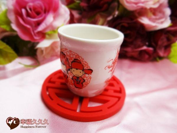 創意杯墊茶包婚禮小物3