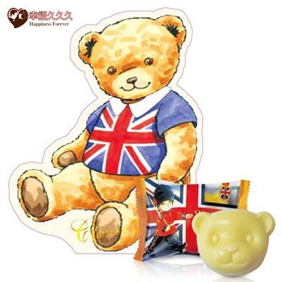 英倫泰迪熊香皂