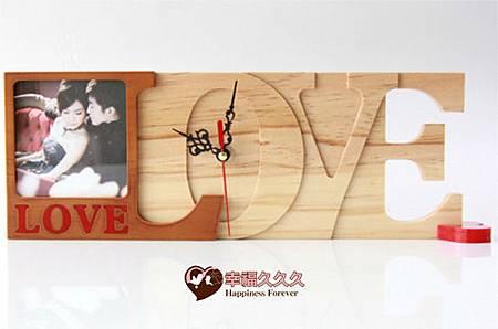 LOVE時鐘相框-1