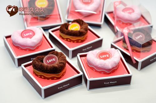 愛戀毛巾蛋糕禮盒-1