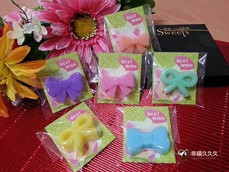 蝴蝶結手工皂-1