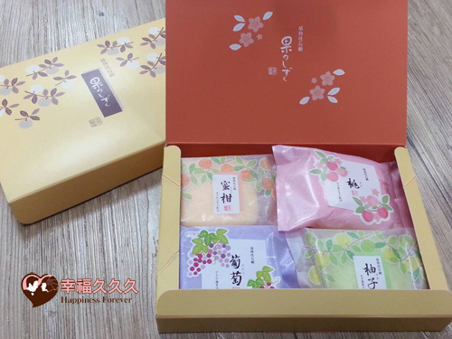 水果風味4入皂禮盒-1