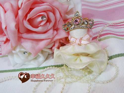 新娘嫁紗鑰匙圈