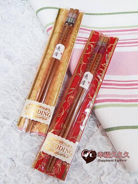 白頭偕老日式木筷-1