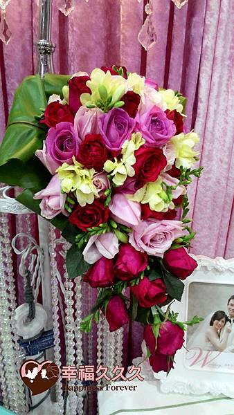 玫瑰捧花-3