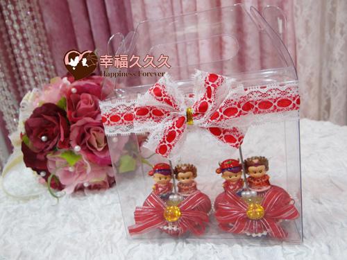 喜事臨門中式謝卡夾-1