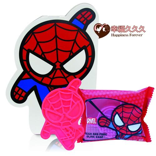 蜘蛛人抗菌皂logo