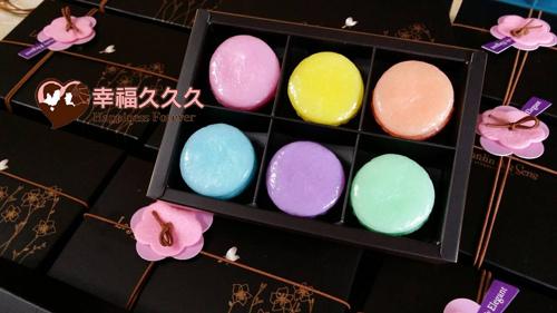 六色馬卡龍香皂禮盒-1