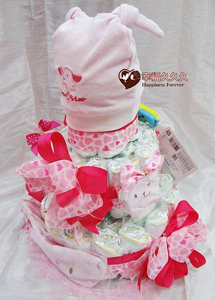 小甜心尿布蛋糕-2