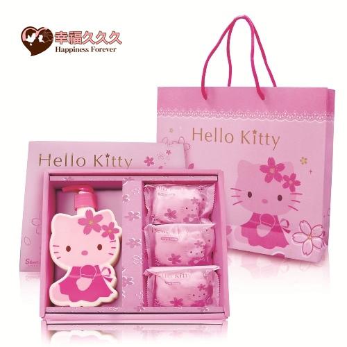 Hello Kitty40年紀念版經典櫻花SPA禮盒