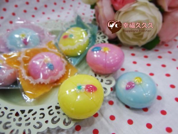 和菓子手工香皂-2