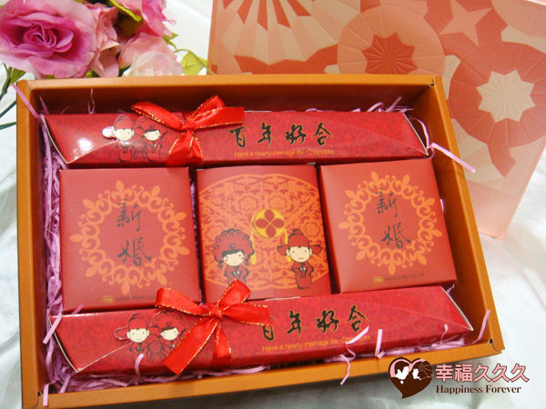 百年好合兔米精緻禮盒