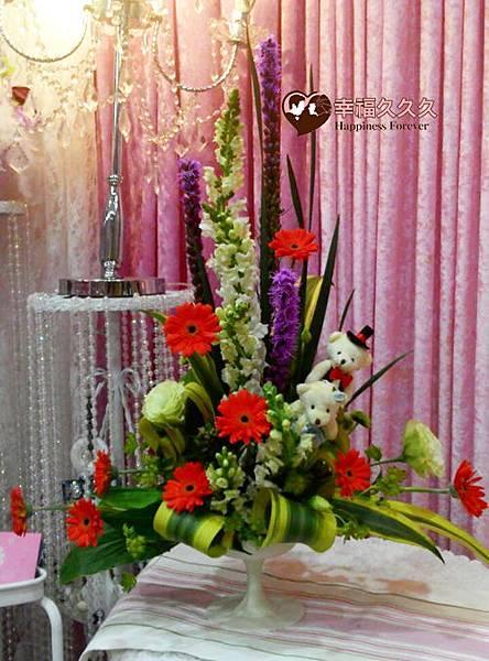 花開富貴桌花-2
