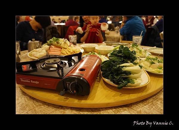 聖誕節當天的火鍋大餐