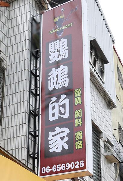 台南新營鳥店:鸚鵡的家