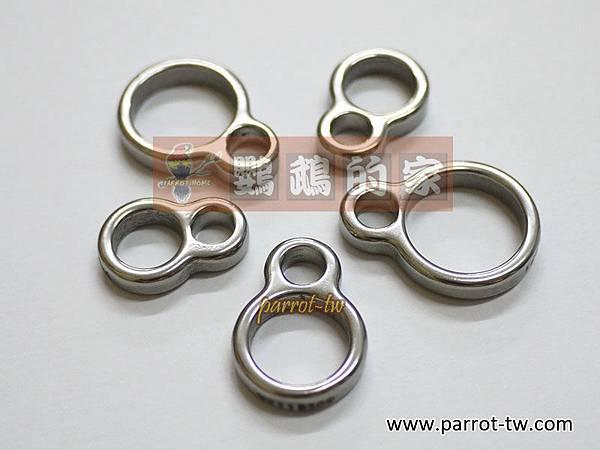 8字型白鐵腳環
