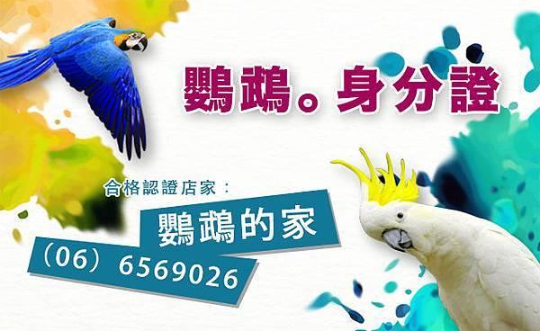 鸚鵡身分證,鸚鵡認證