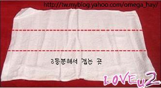 羊角頭巾2