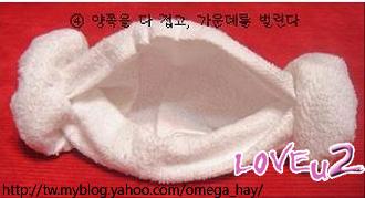 羊角頭巾6