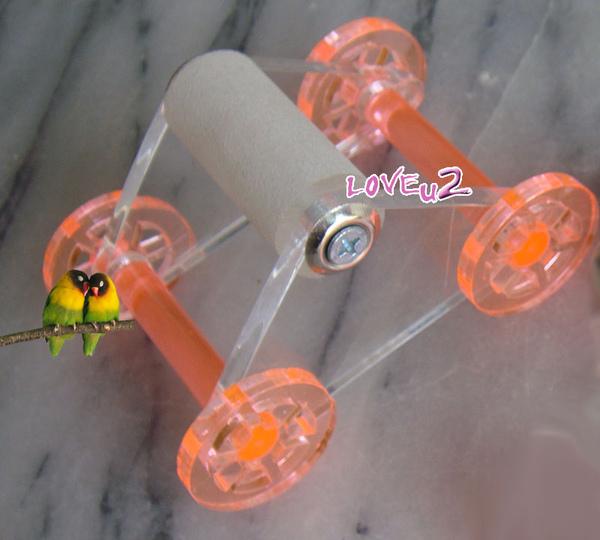 進口鸚鵡玩具.溜冰鞋