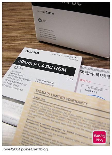 SIGMA 30mm/F1.4 DC Art