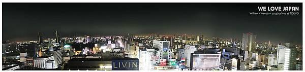 Japan-Day3_LOTTE-CITY-HOTEL-夜景