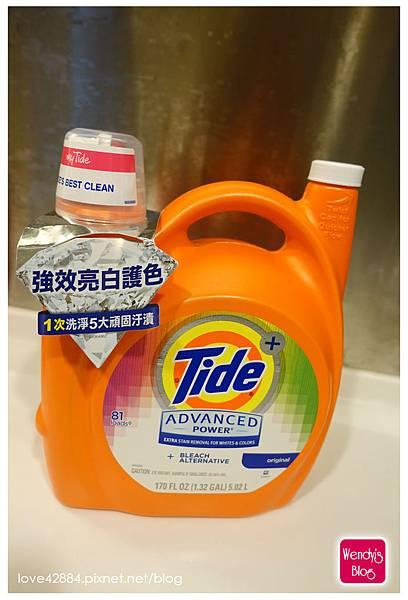 美國Tide汰漬超濃縮洗衣精
