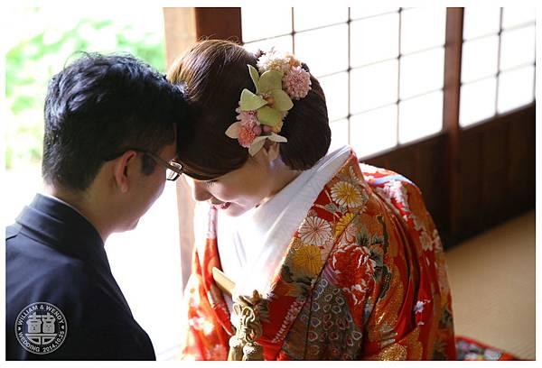 正統和服婚紗照(色打掛&羽織)