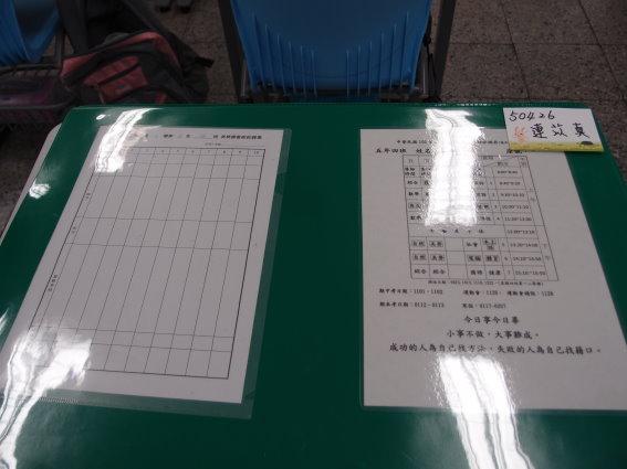 整齊的桌子by陳姿云