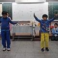 跳繩比賽—吞月餅VS朱冠維