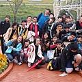 這是全班在花博一起拍的團照by 黃佳萱12 12