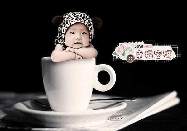咖啡杯小童
