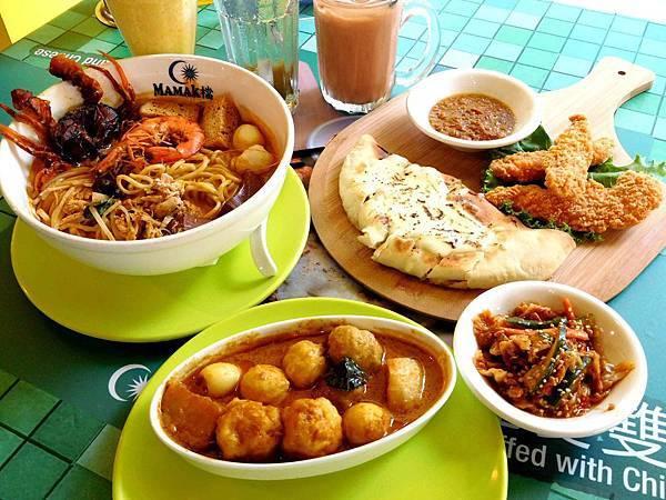 【台北東區】Mamak檔 星馬料理^^東南亞美味的叻沙+印度的餅料理!!