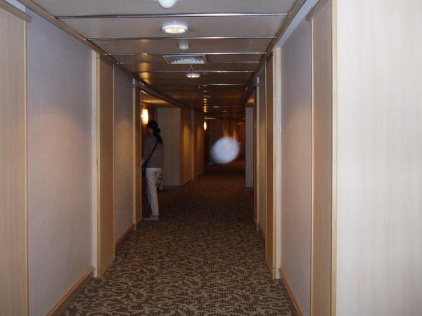 飯店客房走道