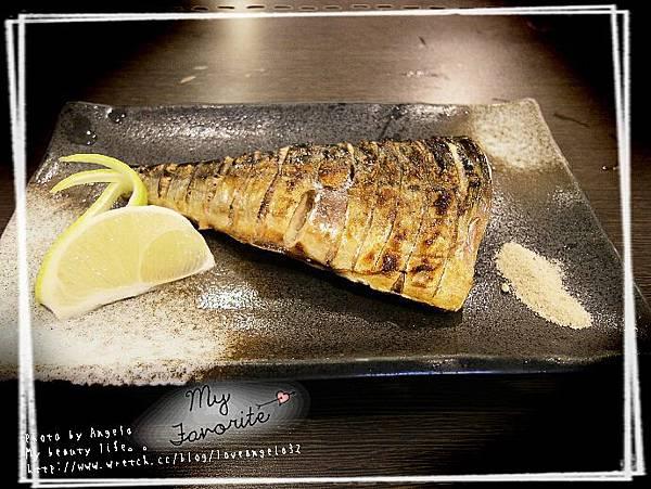 烤鯖魚~  讚!!