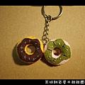 003甜甜圈鑰匙圈